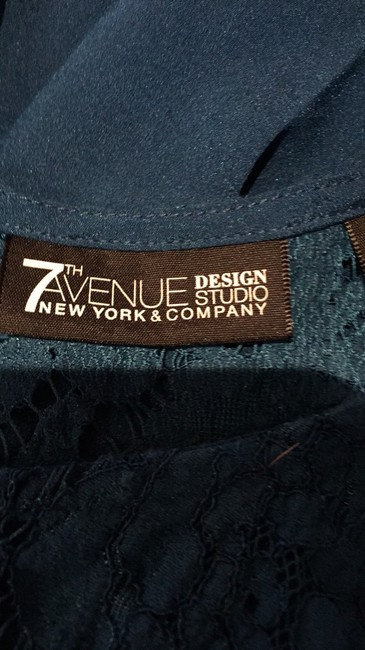 New York & Company Top Blue Image 5