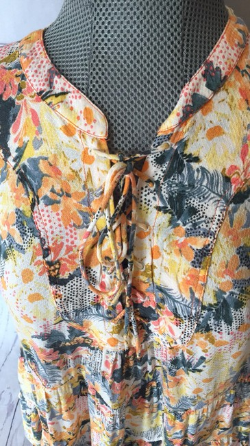 Anthropologie Top Yellow and green Image 1