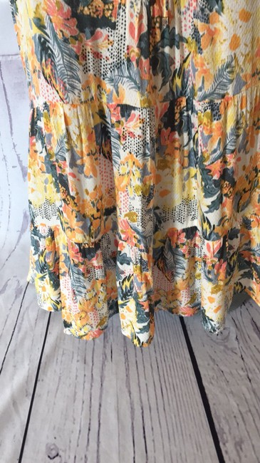 Anthropologie Top Yellow and green Image 2