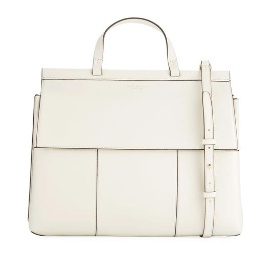 Preload https://img-static.tradesy.com/item/25139178/tory-burch-block-t-t-block-top-handle-white-leather-satchel-0-1-540-540.jpg