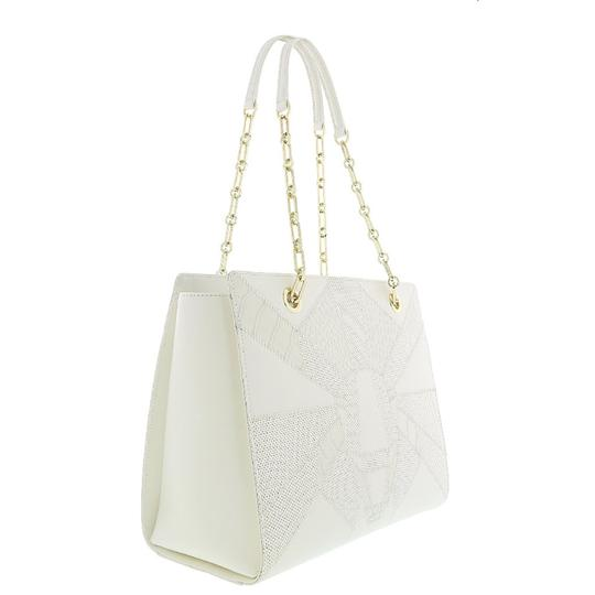 Preload https://img-static.tradesy.com/item/25139208/roberto-cavalli-shopping-white-calf-leather-and-synthetic-leather-tote-0-0-540-540.jpg