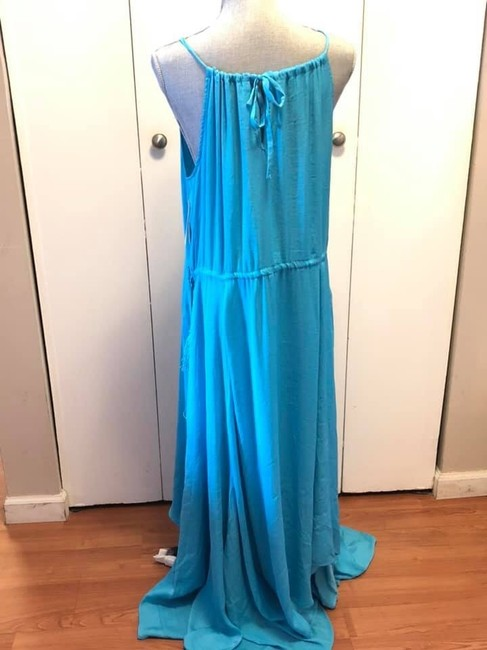 Blue Maxi Dress by Moon & Meadow Image 6