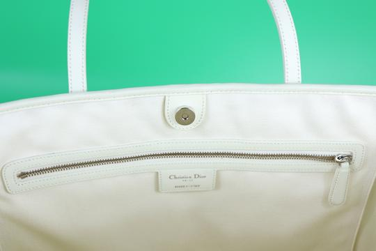 Dior Tote in Ivory Image 5