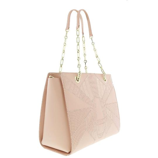 Preload https://img-static.tradesy.com/item/25139290/roberto-cavalli-class-shoppertote-nude-calf-leather-and-synthetic-leather-tote-0-0-540-540.jpg