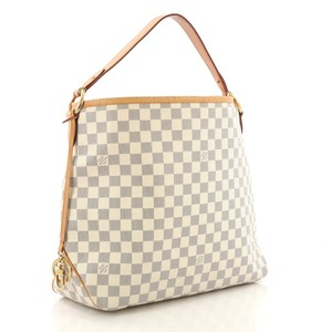 c7302b9477bd Louis Vuitton Delightful Damier Azur Discontinued Shoulder Bag
