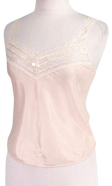 Preload https://img-static.tradesy.com/item/25139419/dior-pink-christian-vintage-lace-camisole-tank-topcami-size-petite-6-s-0-1-650-650.jpg