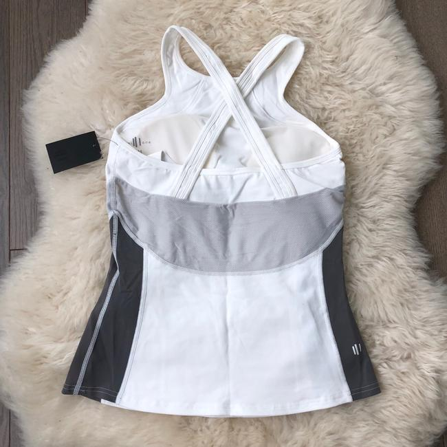 Will Lane Will Lane ANTHONY TANK - Solid White Workout Top Image 1