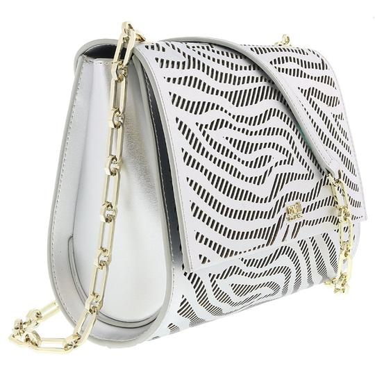 Preload https://img-static.tradesy.com/item/25139621/roberto-cavalli-class-small-silver-calf-leather-and-synthetic-leather-shoulder-bag-0-0-540-540.jpg
