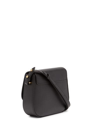 Marc Jacobs Magnetic Closure Slip Pockets Mini Rider Leather Luggage Tag Cross Body Bag Image 2