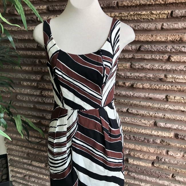 Trina Turk short dress Black, Brown, White on Tradesy Image 1