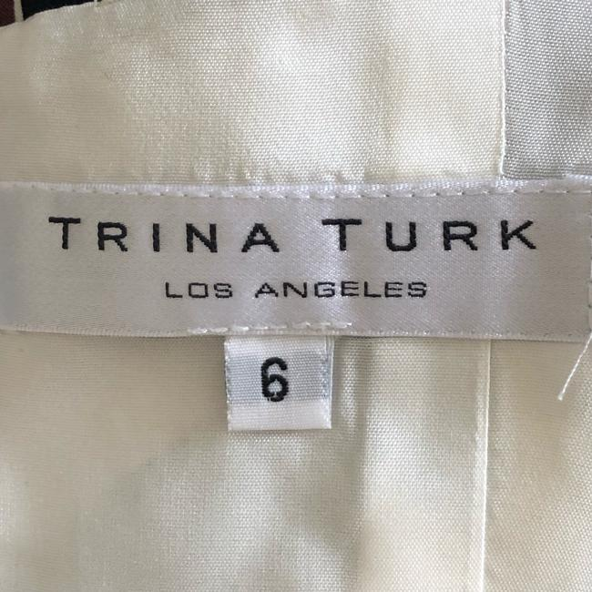 Trina Turk short dress Black, Brown, White on Tradesy Image 5