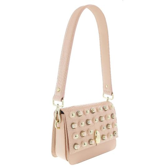 Preload https://img-static.tradesy.com/item/25139723/roberto-cavalli-class-medium-nude-calf-leather-and-synthetic-leather-shoulder-bag-0-0-540-540.jpg