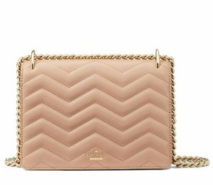 Kate Spade Quilted Leather Crossbody Convertible Strap Shoulder Bag