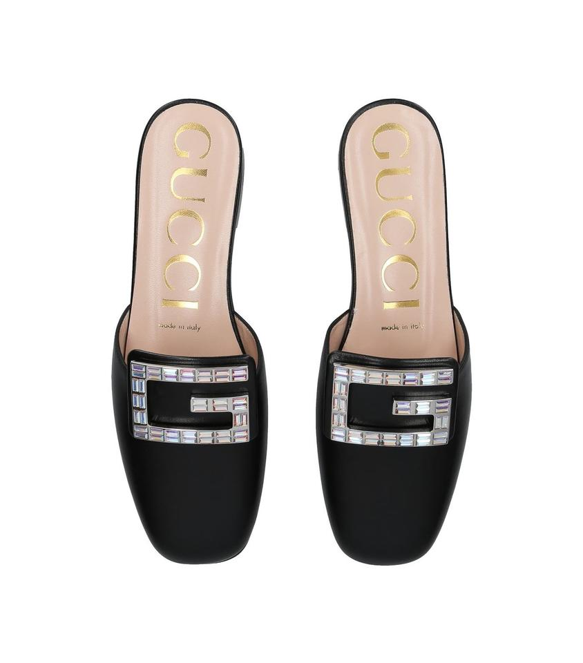 538be48a8 Gucci Black Madelyn Mules/Slides Size EU 37 (Approx. US 7) Regular ...