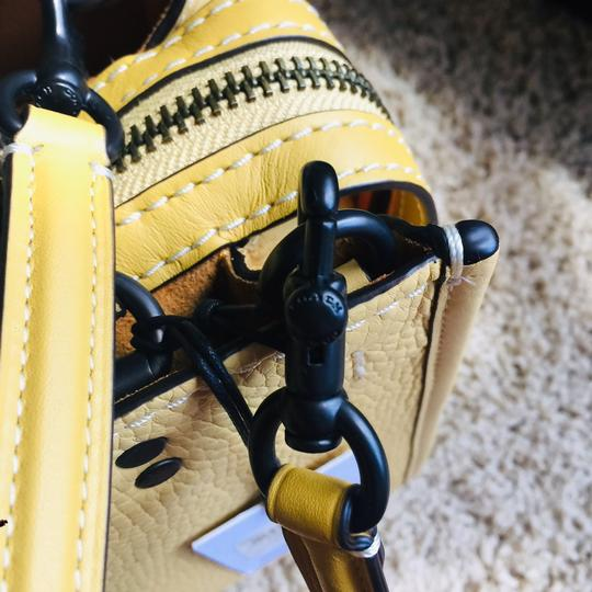 Coach 1941 Satchel in Yellow Image 4