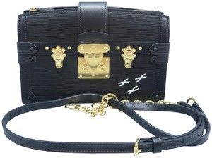 Louis Vuitton Lv Trunk black Clutch