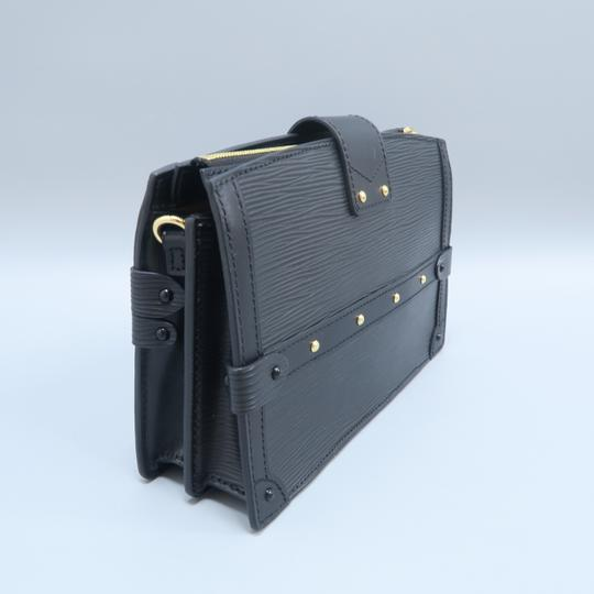 Louis Vuitton Lv Trunk black Clutch Image 4