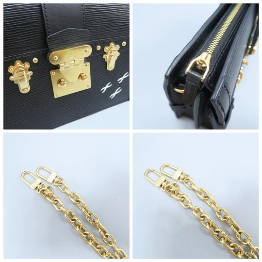 Louis Vuitton Lv Trunk black Clutch Image 7