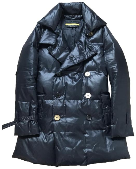 Preload https://img-static.tradesy.com/item/25140091/black-double-breasted-puffer-trench-coat-size-2-xs-0-1-650-650.jpg
