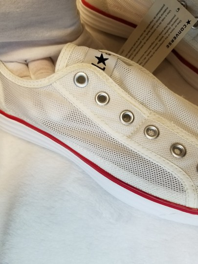 Converse White Athletic Image 2