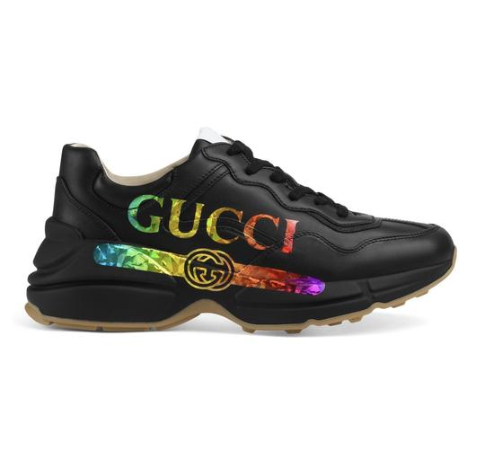 Preload https://img-static.tradesy.com/item/25140162/gucci-black-rhyton-logo-leather-sneakers-75-sneakers-size-eu-375-approx-us-75-regular-m-b-0-0-540-540.jpg