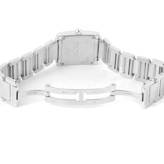 Cartier Cartier Tank Francaise Small White Gold Diamond Ladies Watch WE1002S3 Image 7