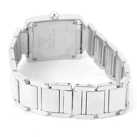 Cartier Cartier Tank Francaise Small White Gold Diamond Ladies Watch WE1002S3 Image 8