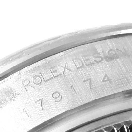 Rolex Rolex Datejust 26 Steel White Gold MOP Ladies Watch 179174 Box Papers Image 6