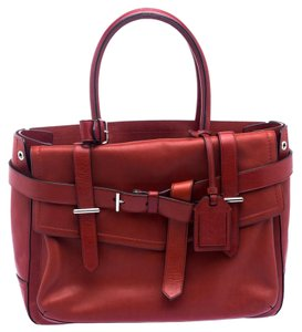 Reed Krakoff Leather Tote in Red