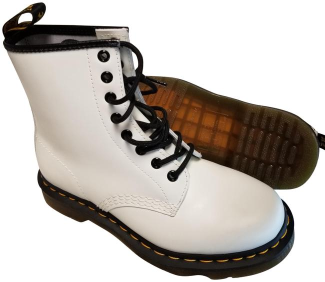 Item - White 1460 Smooth Boots/Booties Size EU 37 (Approx. US 7) Regular (M, B)