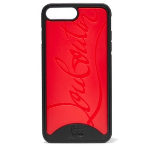 Christian Louboutin Loubiphone logo embossed PVC iPhone 7 Plus iPhone 8 Plus case cover