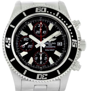 Breitling Breitling Aeromarine SuperOcean II Chronograph Watch A13341 Box Papers
