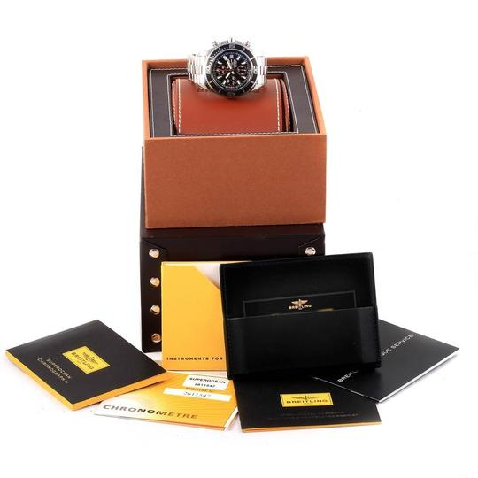 Breitling Breitling Aeromarine SuperOcean II Chronograph Watch A13341 Box Papers Image 11