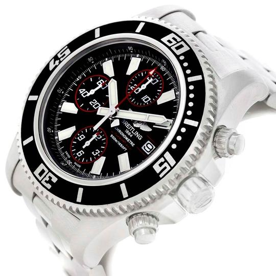 Breitling Breitling Aeromarine SuperOcean II Chronograph Watch A13341 Box Papers Image 4