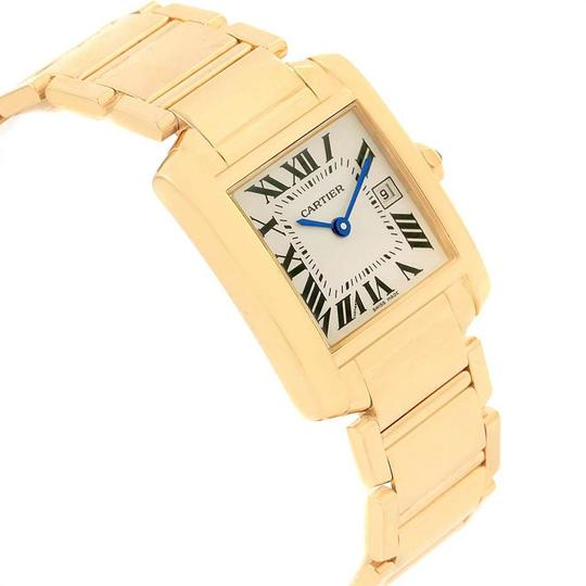 Cartier Cartier Tank Francaise Midsize Yellow Gold Ladies Watch W50014N2 Box P Image 2