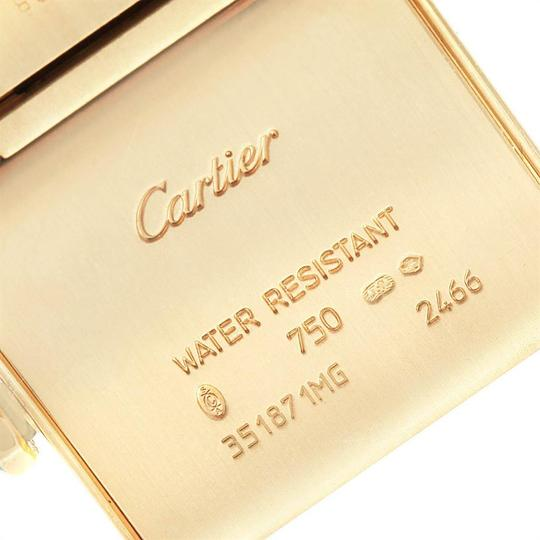 Cartier Cartier Tank Francaise Midsize Yellow Gold Ladies Watch W50014N2 Box P Image 5