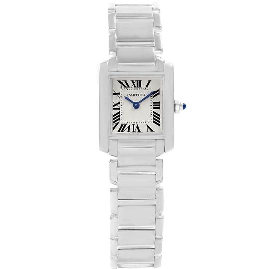Cartier Cartier Tank Francaise White Gold Quartz Ladies Watch W50012S3 Image 1