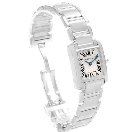 Cartier Cartier Tank Francaise White Gold Quartz Ladies Watch W50012S3 Image 2