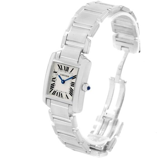 Cartier Cartier Tank Francaise White Gold Quartz Ladies Watch W50012S3 Image 3