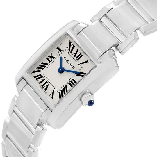 Cartier Cartier Tank Francaise White Gold Quartz Ladies Watch W50012S3 Image 4