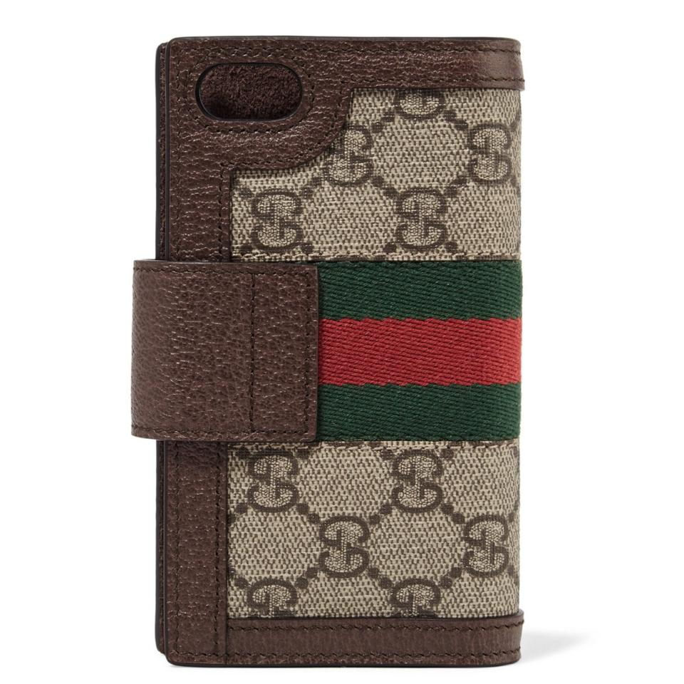 089931117df7 Gucci Ophidia leather wallet chain iPhone 7 iPhone 8 case cover Image 5.  123456
