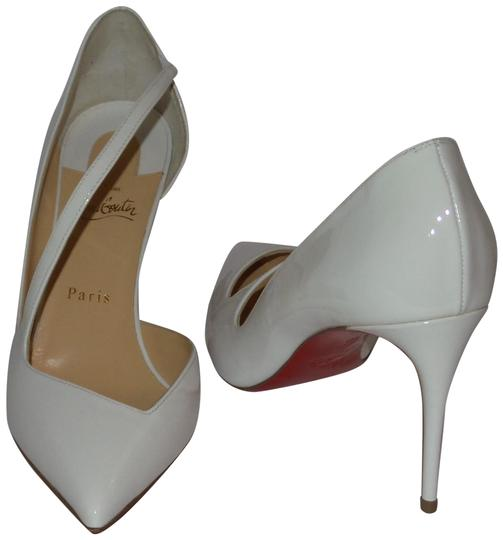 Preload https://img-static.tradesy.com/item/25140532/christian-louboutin-white-jumping-85-latte-heels-pumps-size-eu-40-approx-us-10-regular-m-b-0-1-540-540.jpg