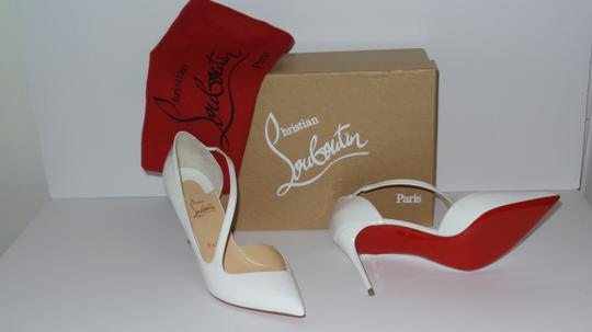 Christian Louboutin WHITE Pumps Image 8