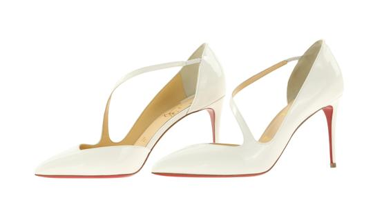 Christian Louboutin White Pumps Image 3
