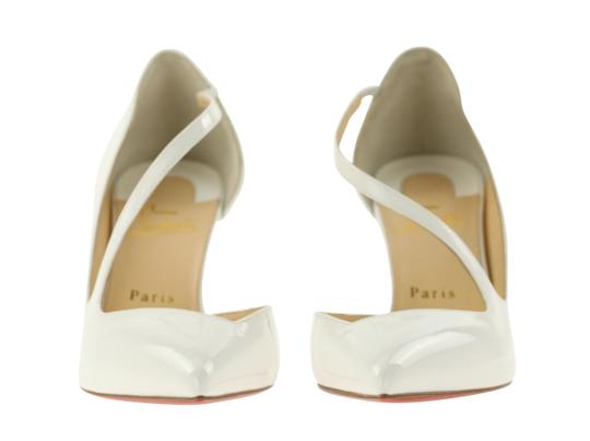 Christian Louboutin White Pumps Image 4