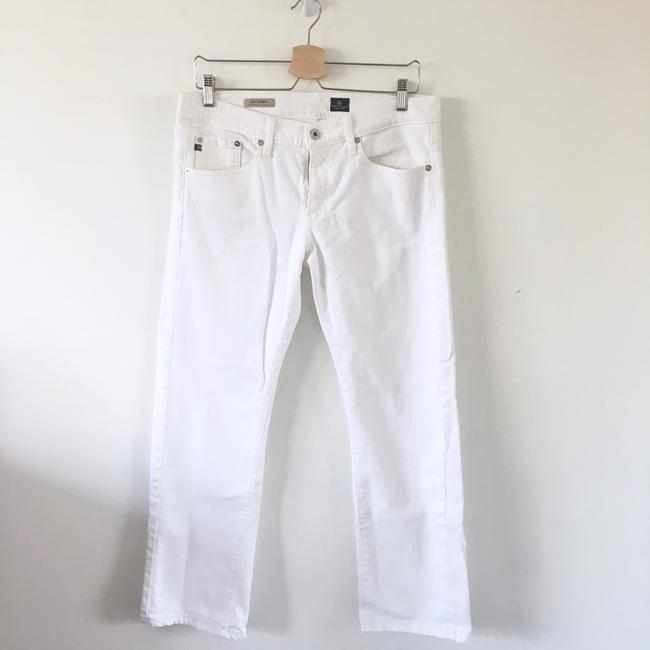 AG Adriano Goldschmied Straight Leg Jeans-Light Wash Image 3
