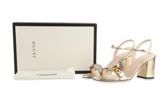 Gucci Gold Sandals Image 11