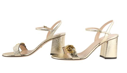Gucci Gold Sandals Image 4