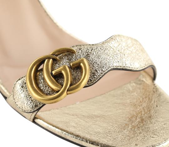 Gucci Gold Sandals Image 7