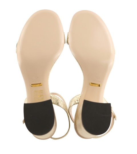 Gucci Gold Sandals Image 9